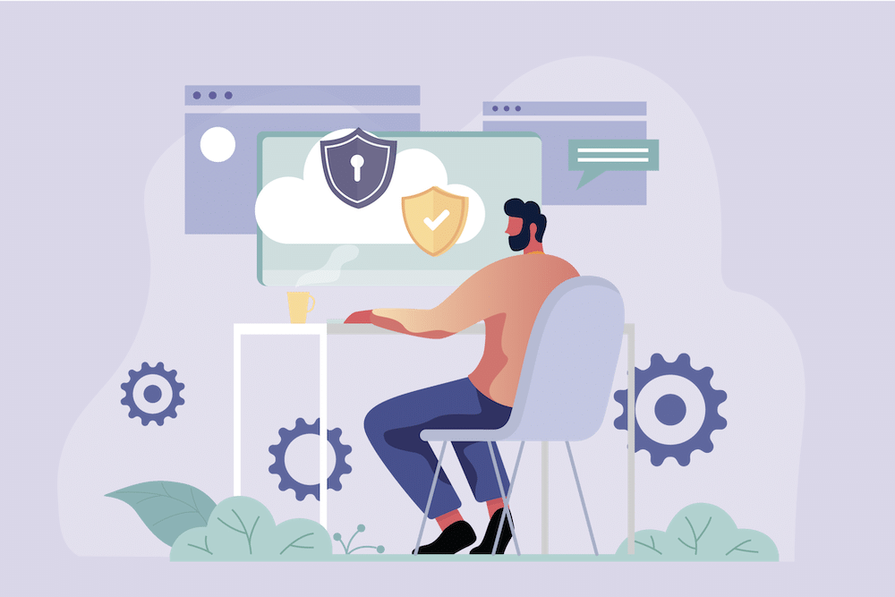 Cloud security being monitored